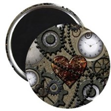Steampunk Magnets