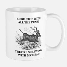 Could You Stop with All the Puns Mugs