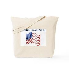 Mark Warner (american flag) Tote Bag