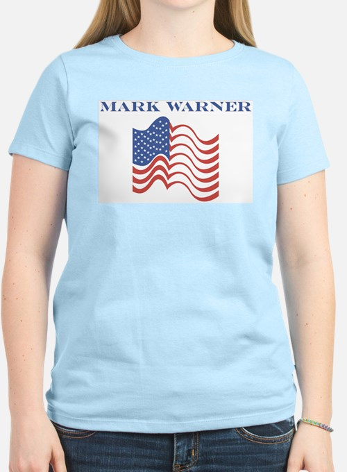 Mark Warner (american flag) T-Shirt