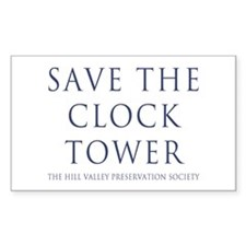 Save the Clock Tower Replica Decal