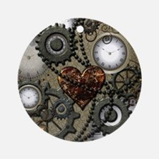 Steampunk Ornament (Round)