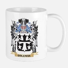 Coleman Coat of Arms - Family Crest Mugs