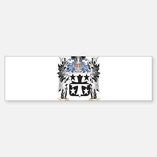 Coleman Coat of Arms - Family Crest Bumper Bumper Bumper Sticker