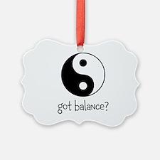 Got Balance Ornament