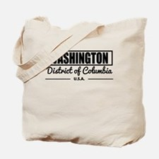 Washington District of Columbia Tote Bag