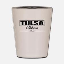 Tulsa Oklahoma Shot Glass