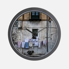 laundry day Wall Clock