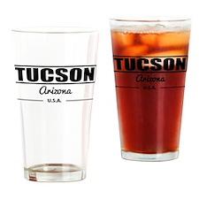 Tucson Arizona Drinking Glass