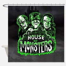 House of Monsters Shower Curtain