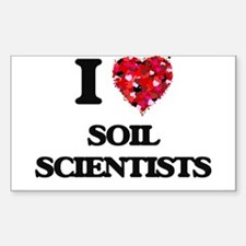 I love Soil Scientists Decal