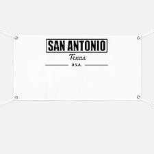 San Antonio Texas Banner
