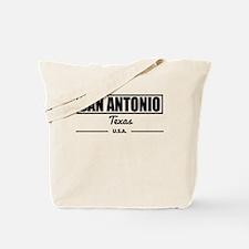 San Antonio Texas Tote Bag
