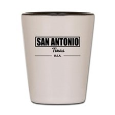 San Antonio Texas Shot Glass