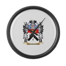 Collingwood Coat of Arms - Family Large Wall Clock