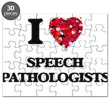 I love Speech Pathologists Puzzle