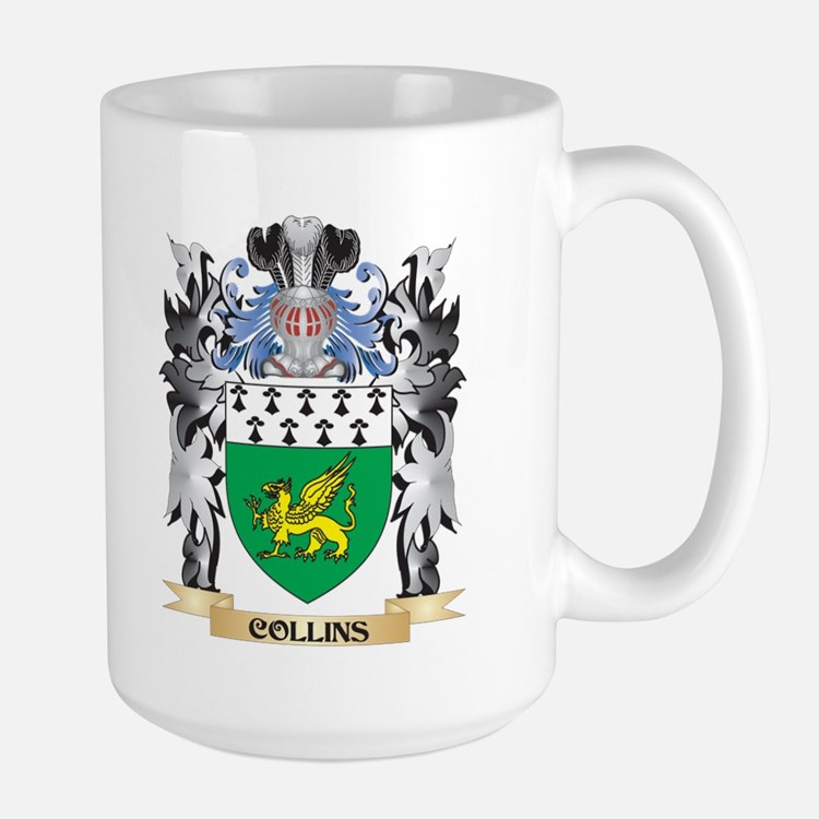 Collins Coat of Arms - Family Crest Mugs