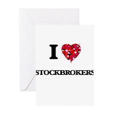 I love Stockbrokers Greeting Cards