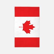 Flag Of Canada Area Rug