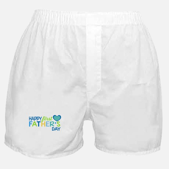 Haopy First Father's Day Boys Boxer Shorts