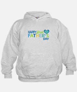 Haopy First Father's Day Boys Hoodie