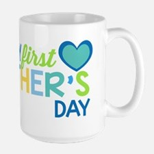 Haopy First Father's Day Boys Mugs