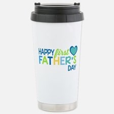 Haopy First Father's Da Stainless Steel Travel Mug