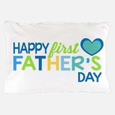 Haopy First Father's Day Boys Pillow Case