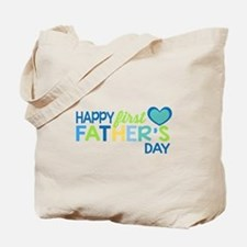 Haopy First Father's Day Boys Tote Bag