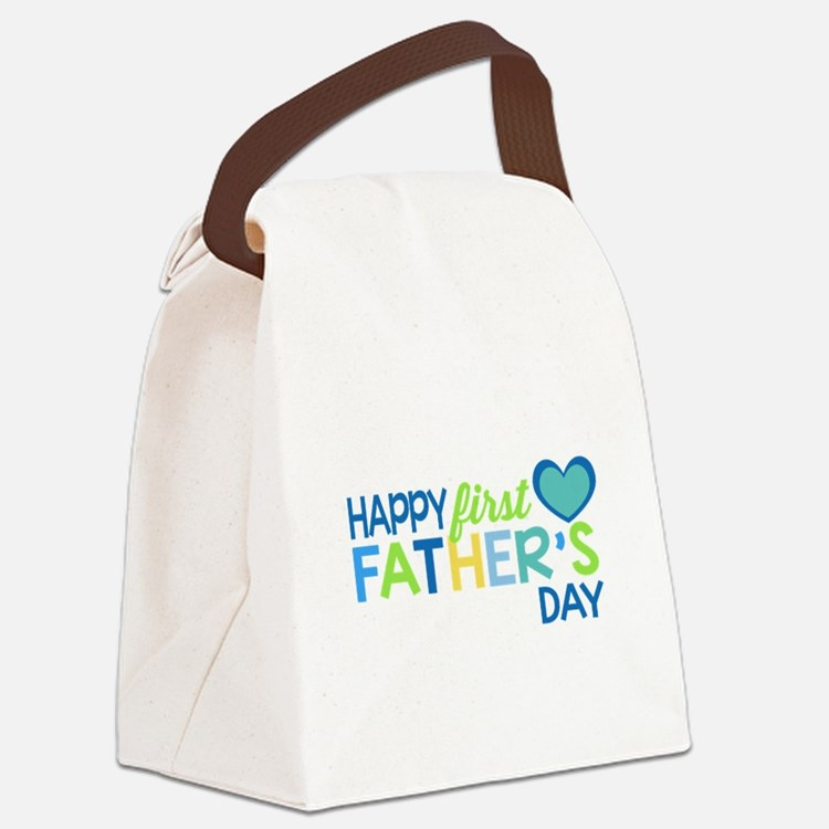Haopy First Father's Day Boys Canvas Lunch Bag