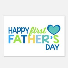 Haopy First Father's Day Postcards (Package of 8)