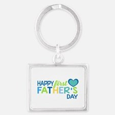 Haopy First Father's Day Boys Keychains