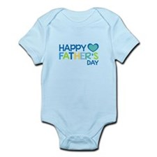 Happy Father's Day Boys Body Suit