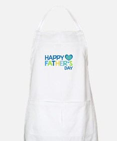 Happy Father's Day Boys Apron