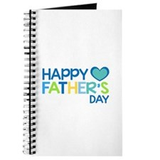 Happy Father's Day Boys Journal