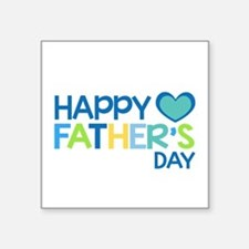 Happy Father's Day Boys Sticker