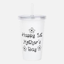 1st Mother Acrylic Double-wall Tumbler