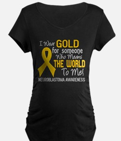 Neuroblastoma MeansWorldToM T-Shirt