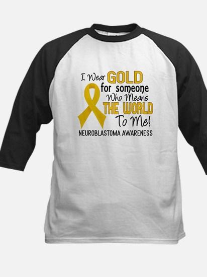 Neuroblastoma MeansWorldToMe2 Kids Baseball Jersey