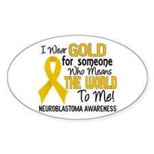 Neuroblastoma MeansWorldToMe2 Decal