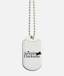 Outride the Darkness Logo bike Dog Tags