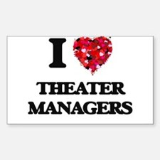 I love Theater Managers Decal