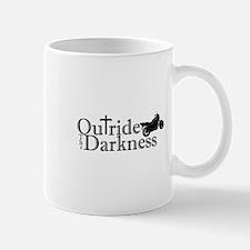 Outride the Darkness Logo bike Mugs