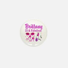 FASHIONABLE 25TH Mini Button (10 pack)