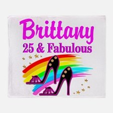 FASHIONABLE 25TH Throw Blanket