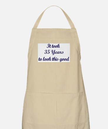 It took 35 Years years BBQ Apron