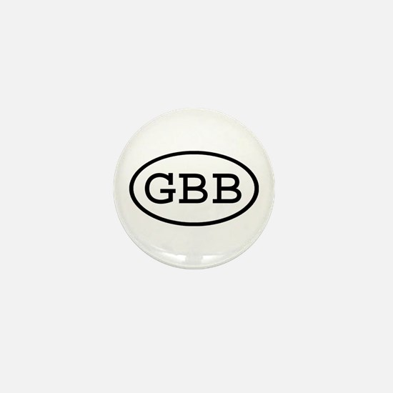 GBB Oval Mini Button (10 pack)
