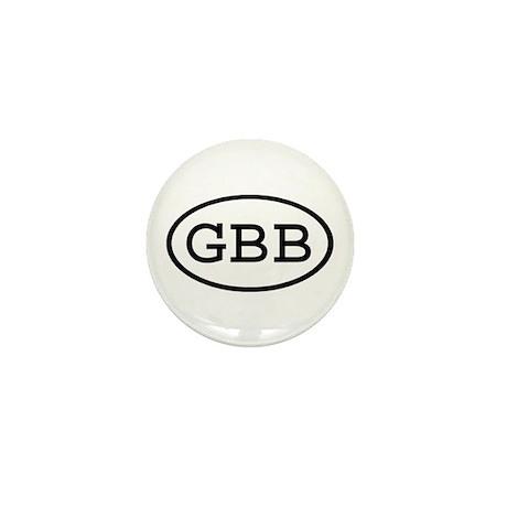 GBB Oval Mini Button