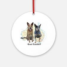 Got Cattle? Ornament (Round)