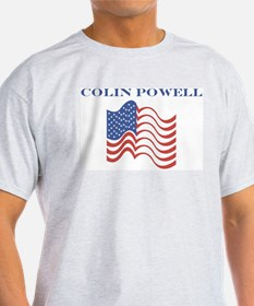 Colin Powell (american flag) T-Shirt